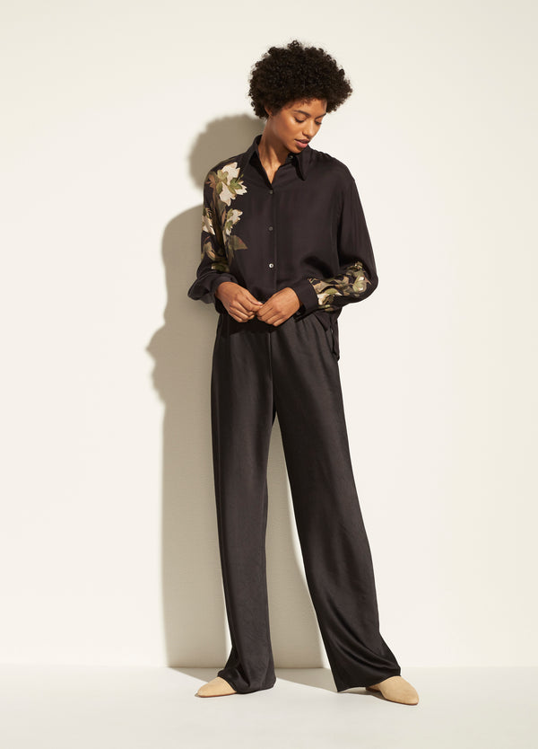 Crushed Satin Pant