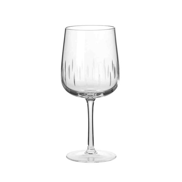 Crystal Wine Glass Rouge Clear