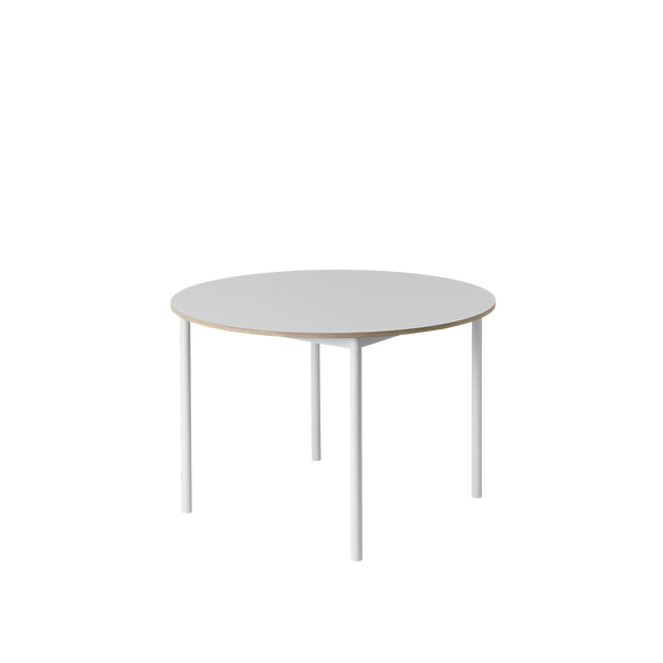 Base Table Round  - 110-White