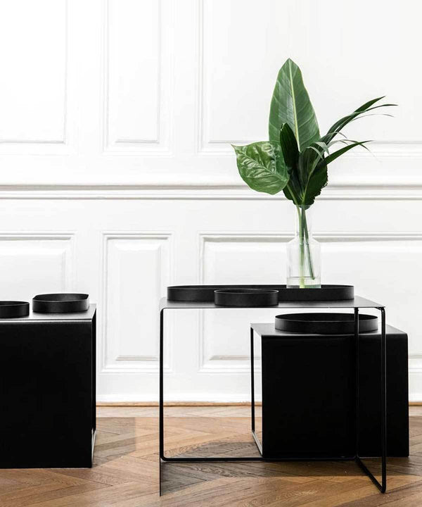 Cluster Tables (set of 3) - Black