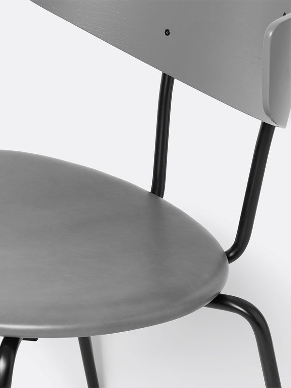 Herman Chair - Leather - Warm Grey/Grey