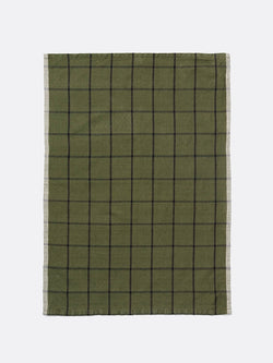 Hale Yarn Dyed Linen Tea Towels - Green
