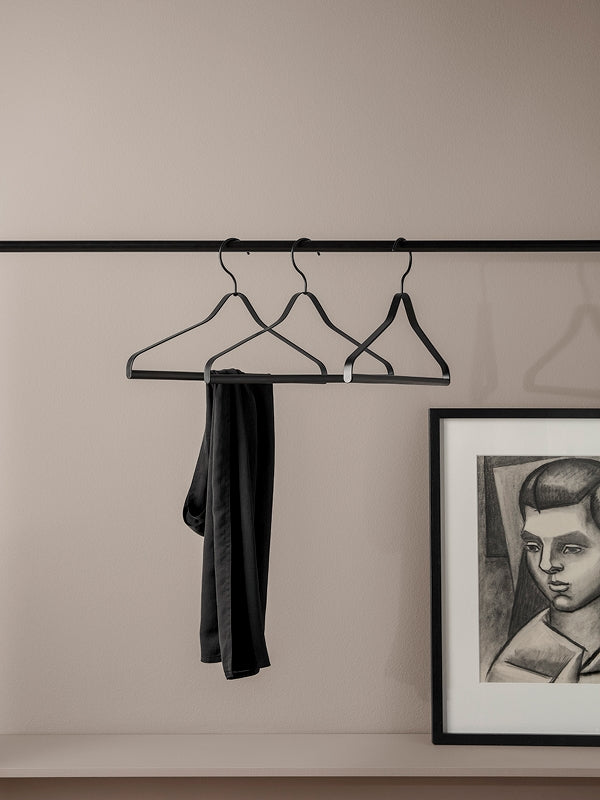 Coat Hanger - Black (set of 3)