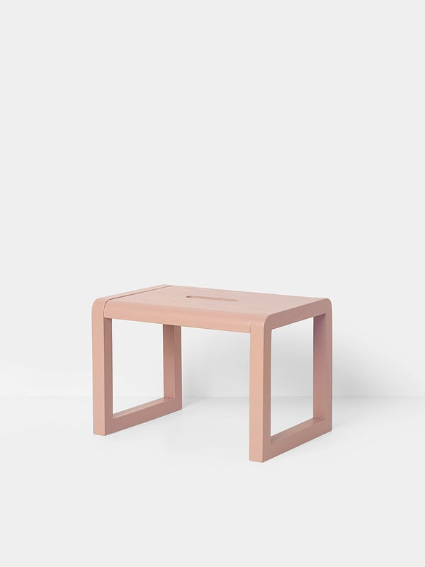 Little Architect Stool - Rose