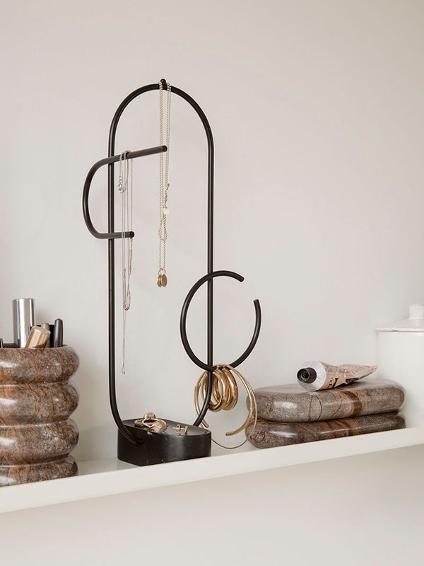 Obu Jewellery Stand - Black