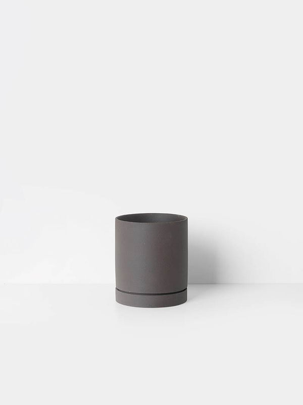 Sekki Pot - Charcoal - Medium