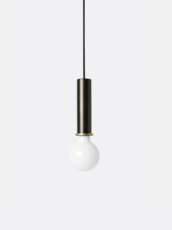 Collect SERIES Socket Pendant - High - Black Brass