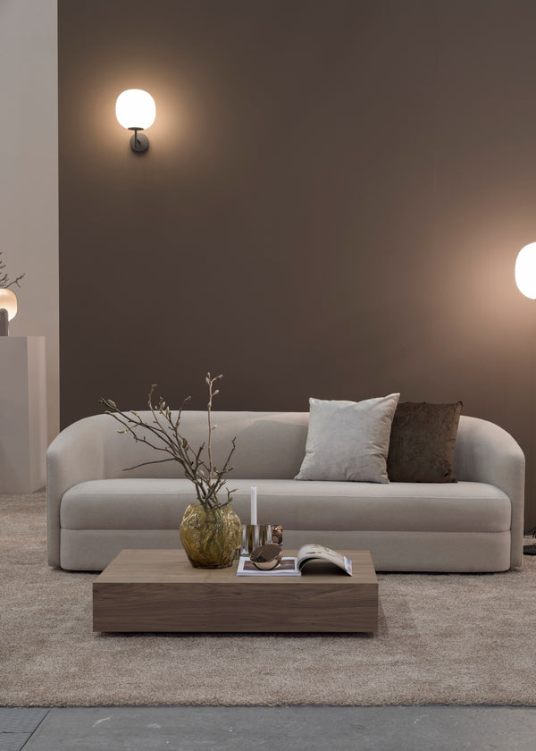 Covent Sofa. 3 Seater  -Light Grey