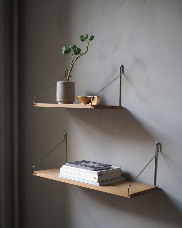 Shelf D27 W80 Black