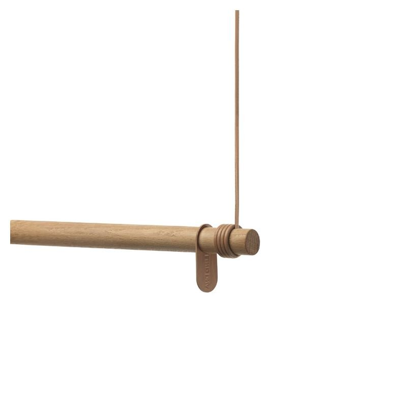 Swing L, Oak Wood Nature/ Leather Nature,