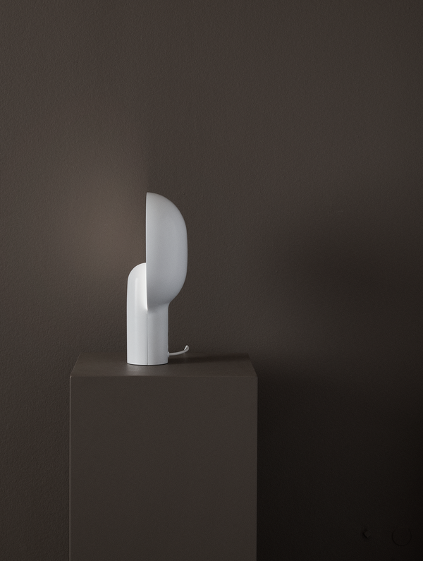 Ware Table Lamp - Milk White Acrylic