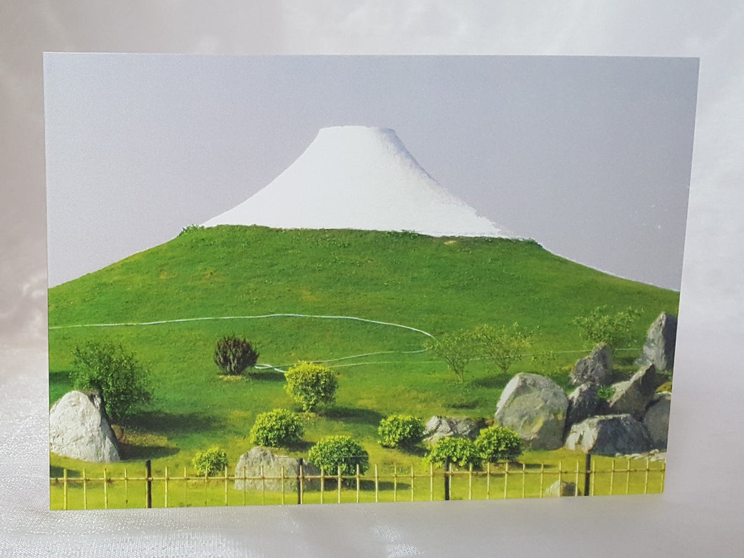 Vishwa Shanti Stupa Hill Greeting Cards