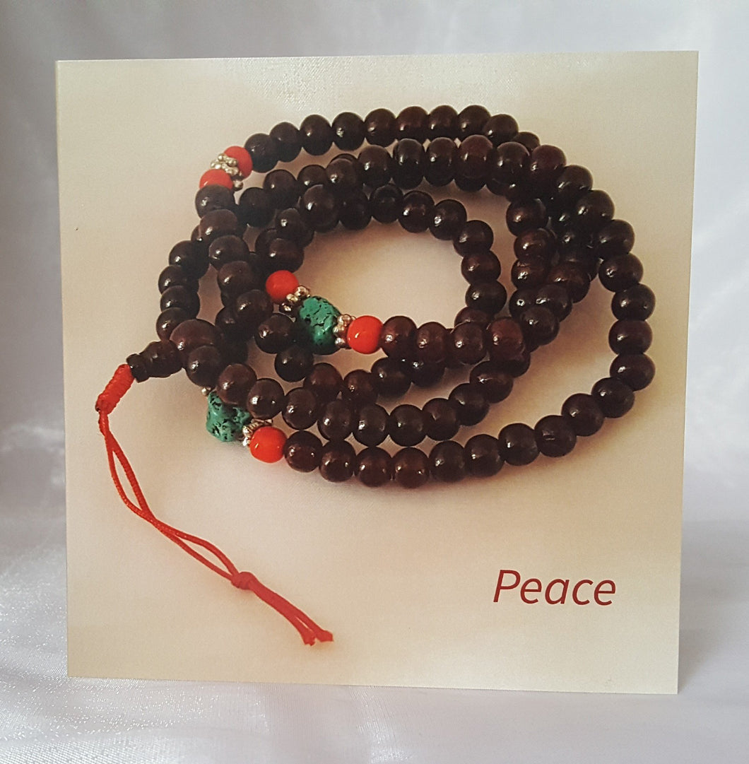 Prayer Bead Greeting Cards