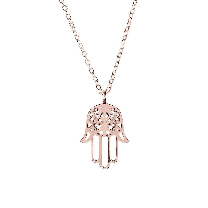Voudra Moda-LATELITA LONDON Cosmic Hamsa Necklace-LATELITA LONDON