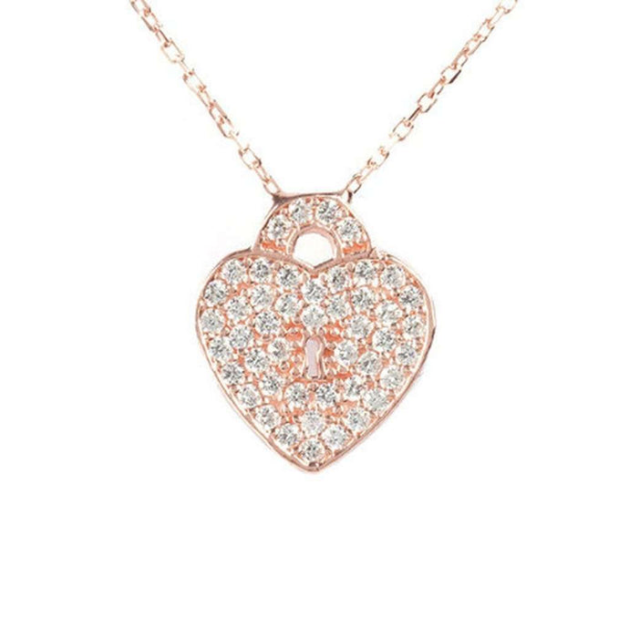 Voudra Moda-LATELITA LONDON Key to my heart necklace-LATELITA LONDON