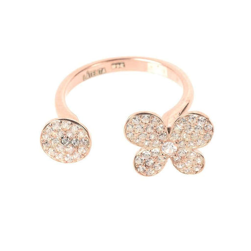 Voudra Moda-LATELITA LONDON Ring Disc & butterfly-LATELITA LONDON