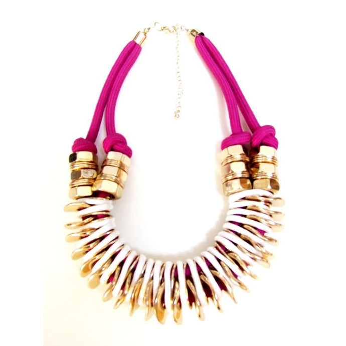 Voudra Moda-SOUKSY LONDON  Binky Purple Necklace-Souksy London