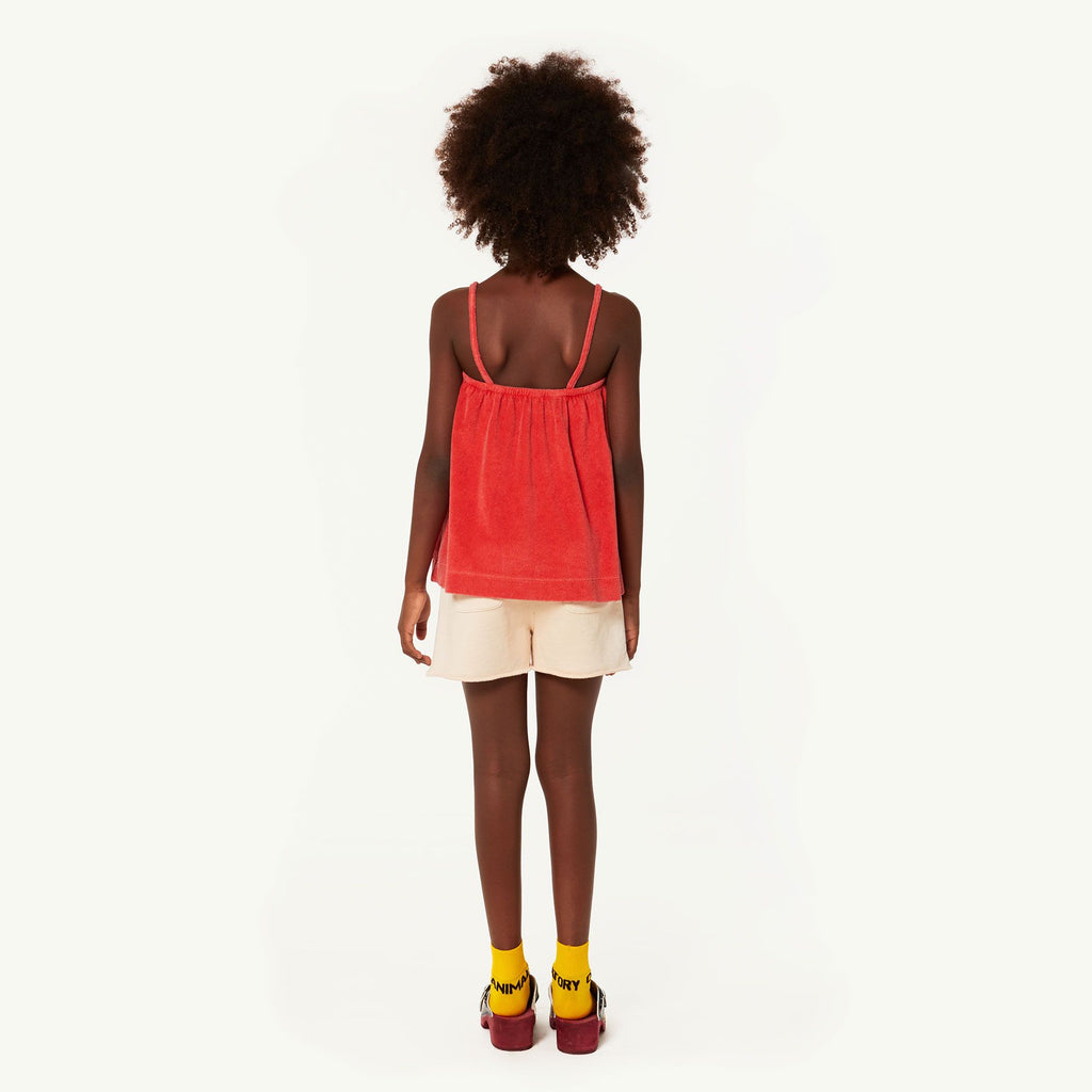STORK KIDS TOP, RED SALUT - Cemarose Children's Fashion Boutique