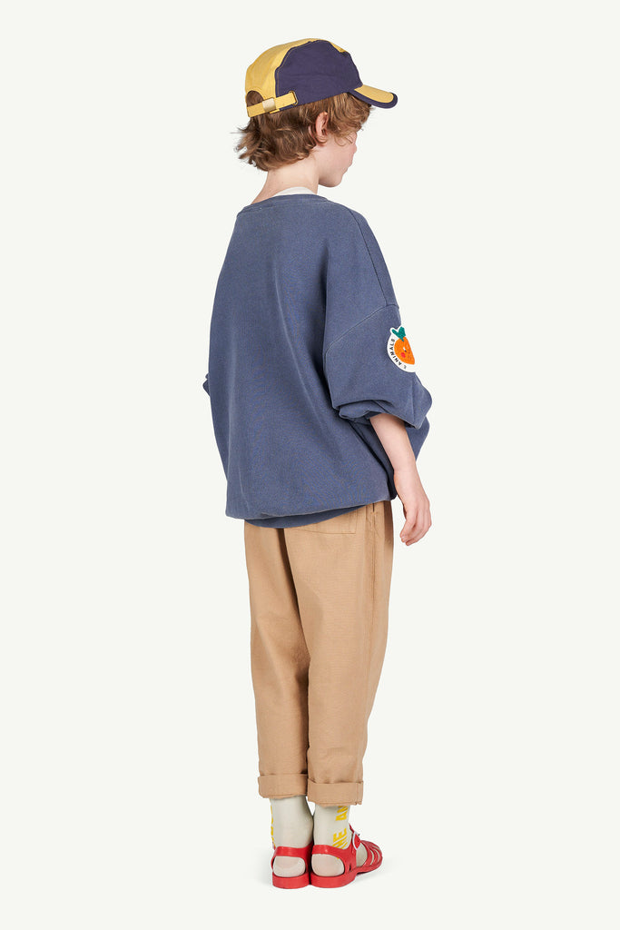 ELEPHANT KIDS PANTS, BROWN UNIFORMS - Cemarose Children's Fashion Boutique