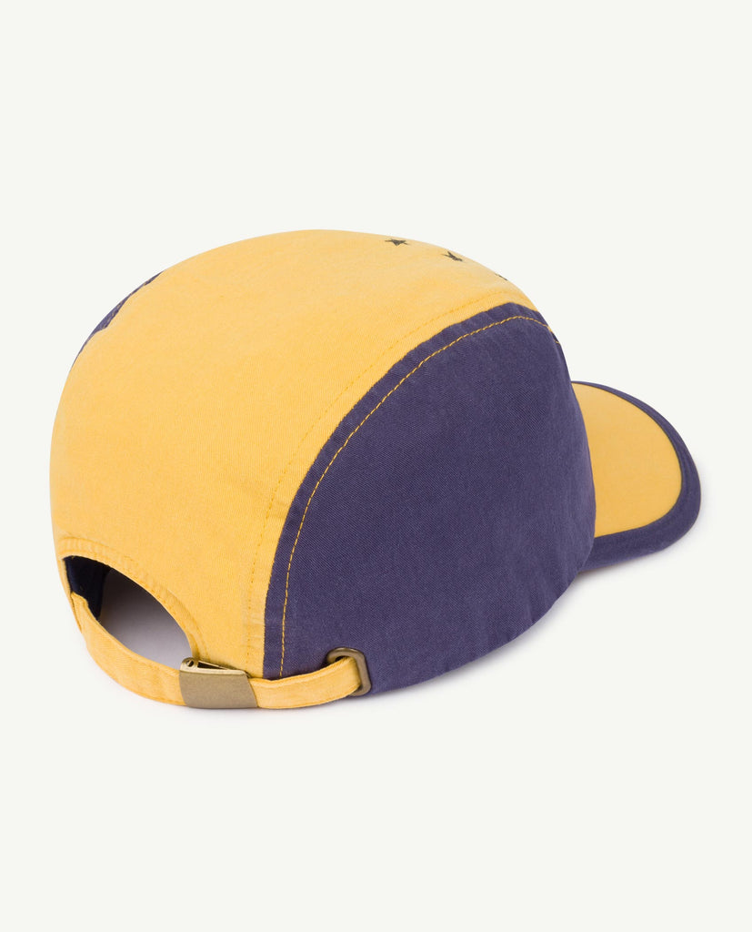 HAMSTER ONESIZE CAP, YELLOW STARS - Cemarose Children's Fashion Boutique