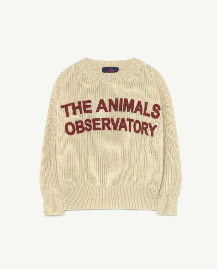TAO BULL KIDS+ SWEATER-WHITE ANIMALS