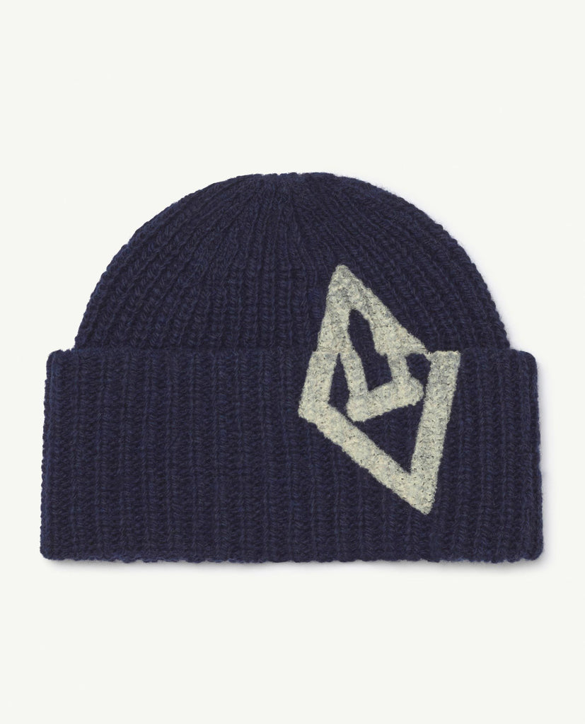 TAO PONY KIDS HAT-Navy Logo