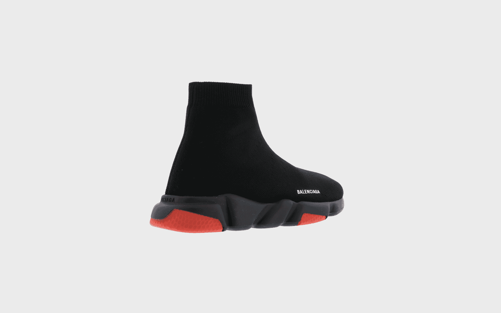 SPEED LT RECY. K/SOLE TRICOLO,BLACK/RED