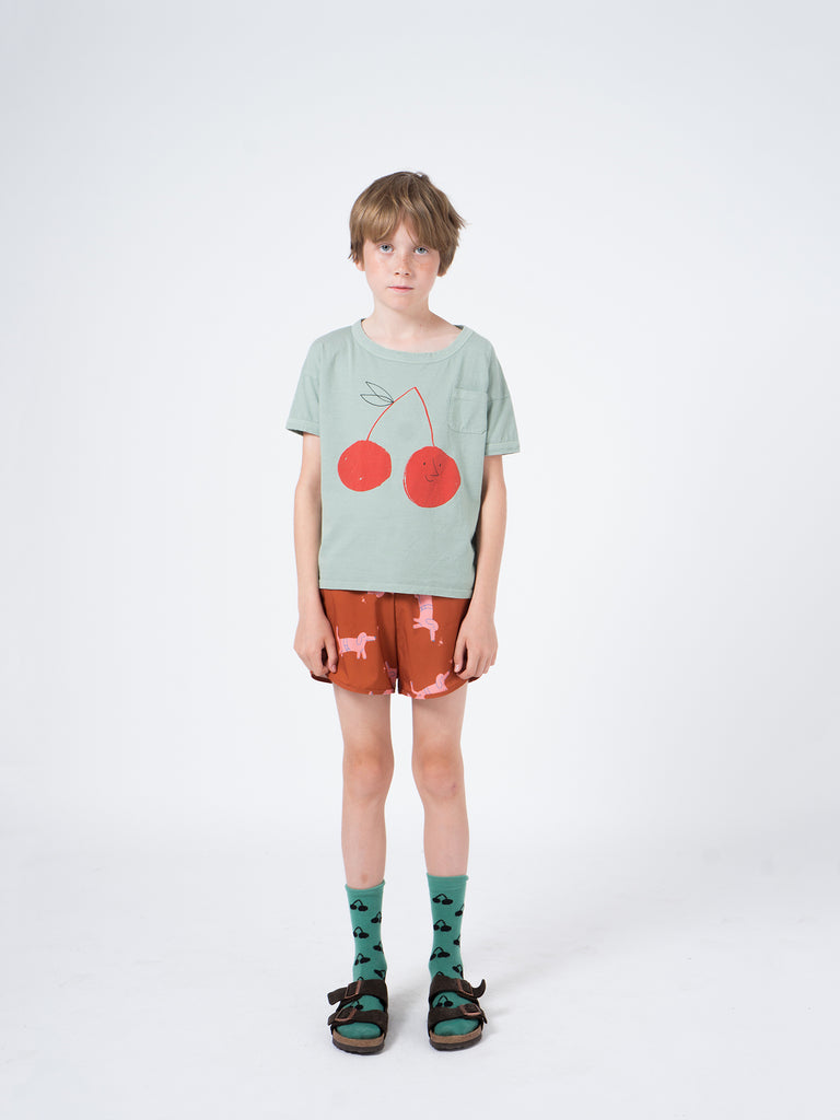 Cherries Long Socks - Cemarose Children's Fashion Boutique