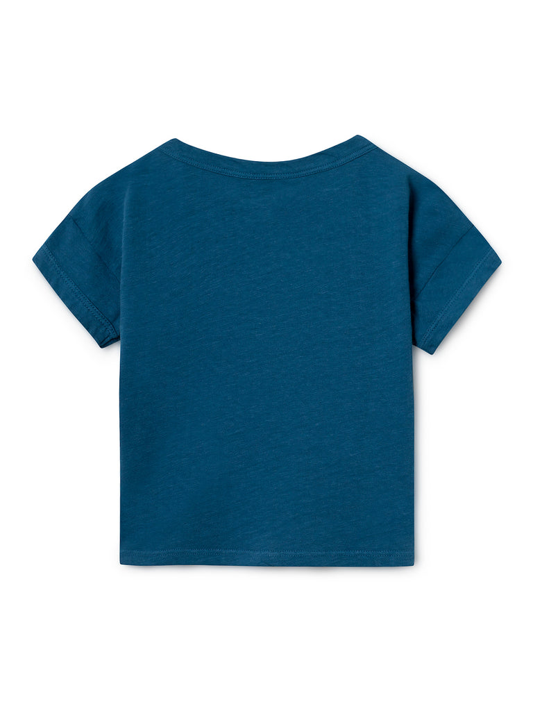 Daisy Linen T-Shirt - Cemarose Children's Fashion Boutique