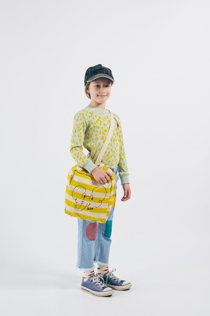 Elephant School Bag, Turtledove - Cemarose Children's Fashion Boutique