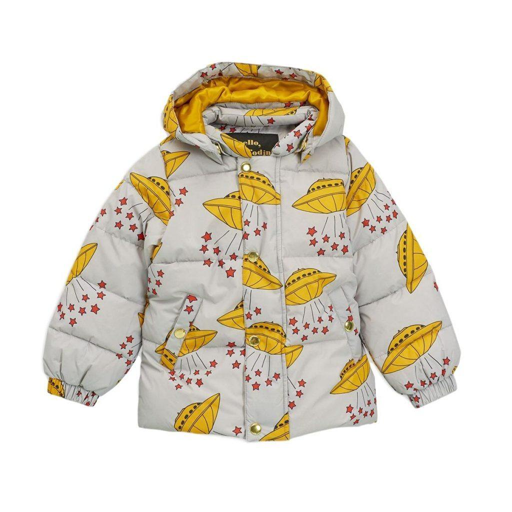 UFO puffer jacket, grey - Cemarose Children's Fashion Boutique