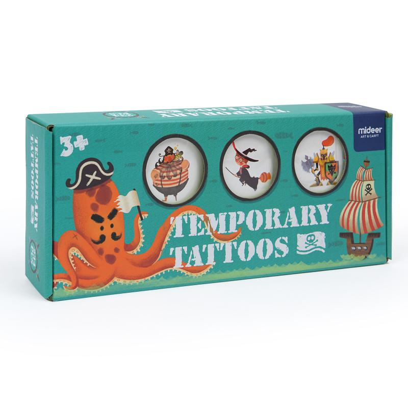 Temporary Tattoos-Pirate Fantastic Voyage
