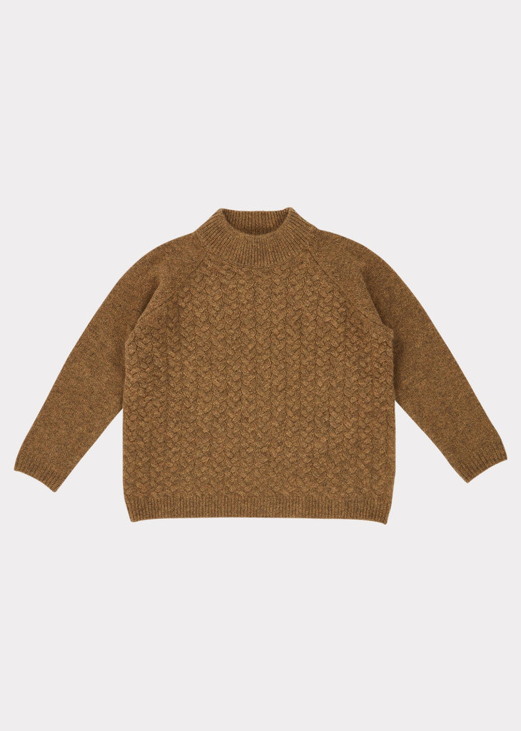 OWL CABLE JUMPER,MOSS