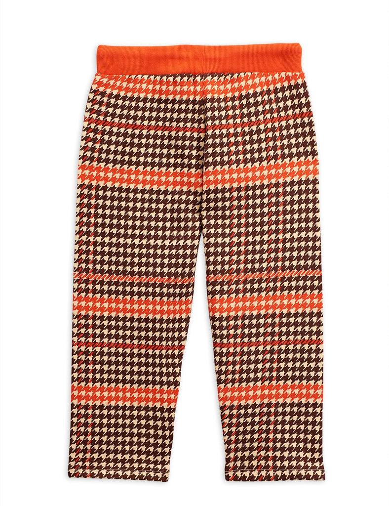 Houndstooth sweatpants, red - Cemarose Children's Fashion Boutique