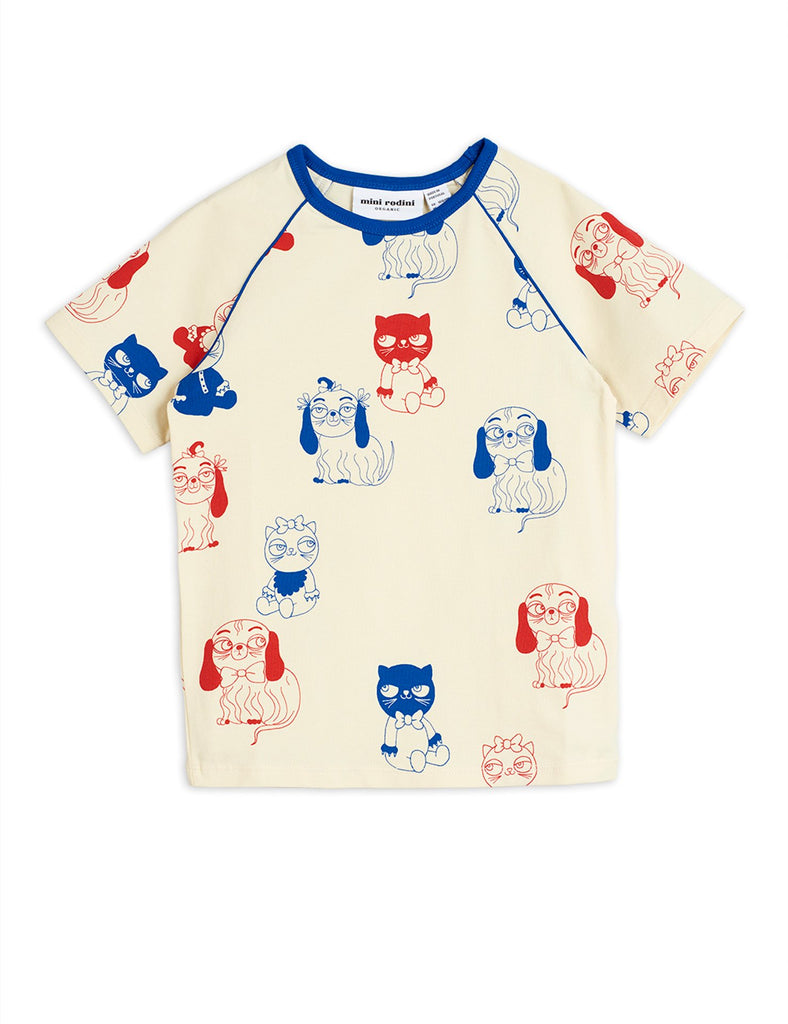 Minibaby aop ss tee, Offwhite - Cemarose Children's Fashion Boutique