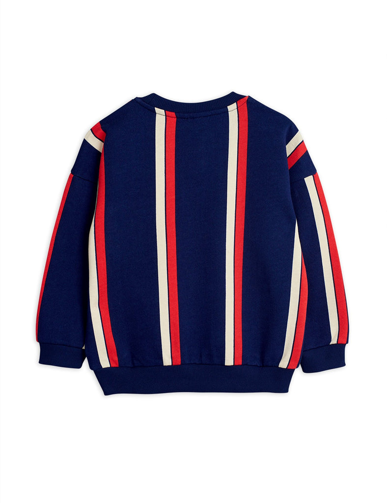 Stripe sweatshirt, Blue