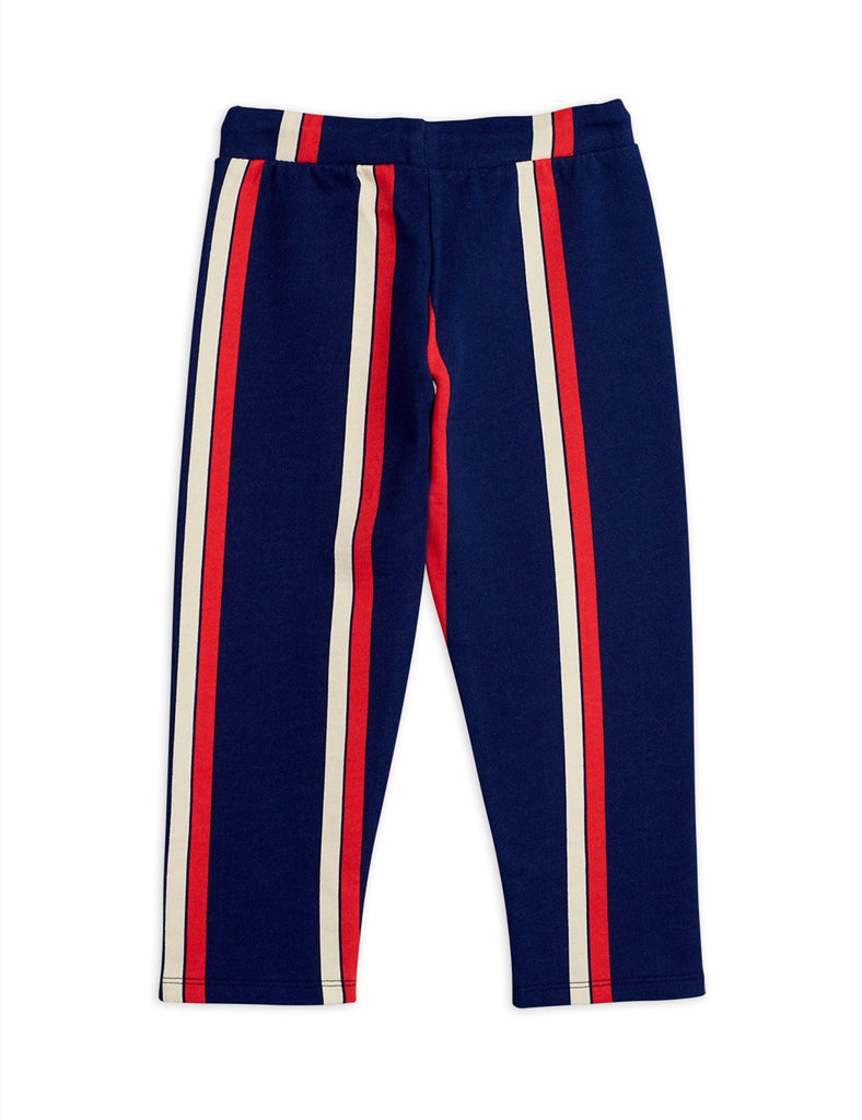 Stripe sweatpants, Blue