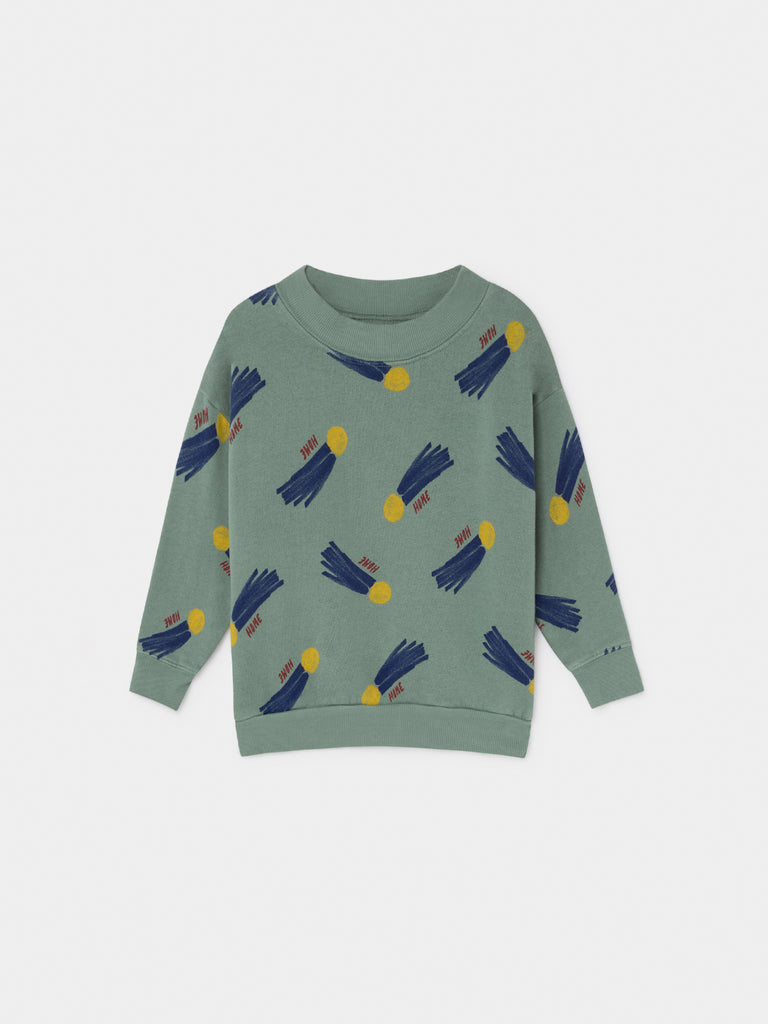 All Over A Star Called Home Sweatshirt - Cemarose Children's Fashion Boutique