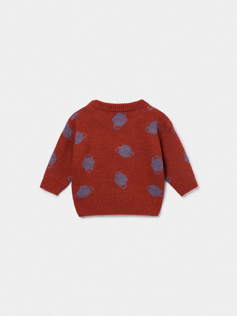 Baby Small Saturn Jacquard Jumper - Cemarose Children's Fashion Boutique