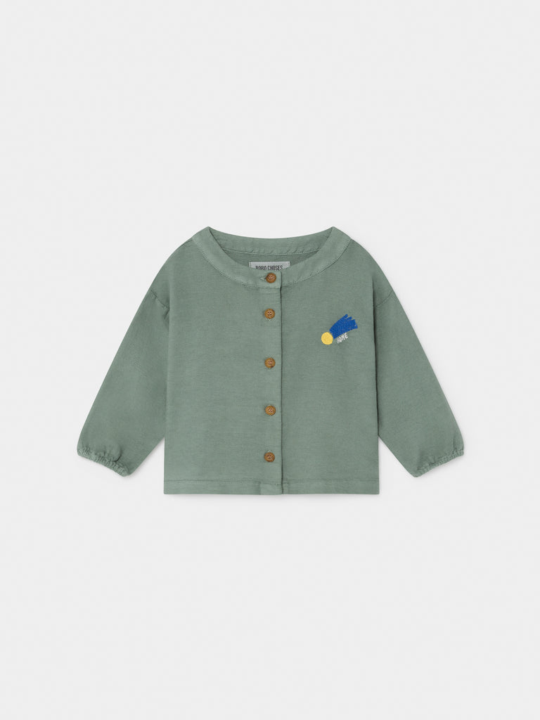 A Star Called Home Buttons Blouse - Cemarose Children's Fashion Boutique