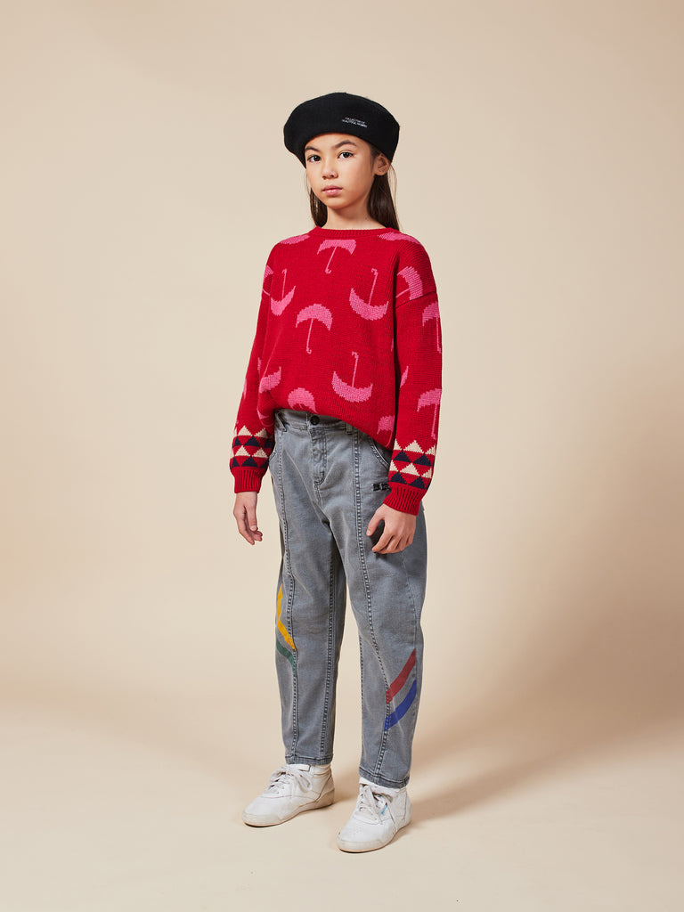 Umbrella All Over Jumper - Cemarose Children's Fashion Boutique