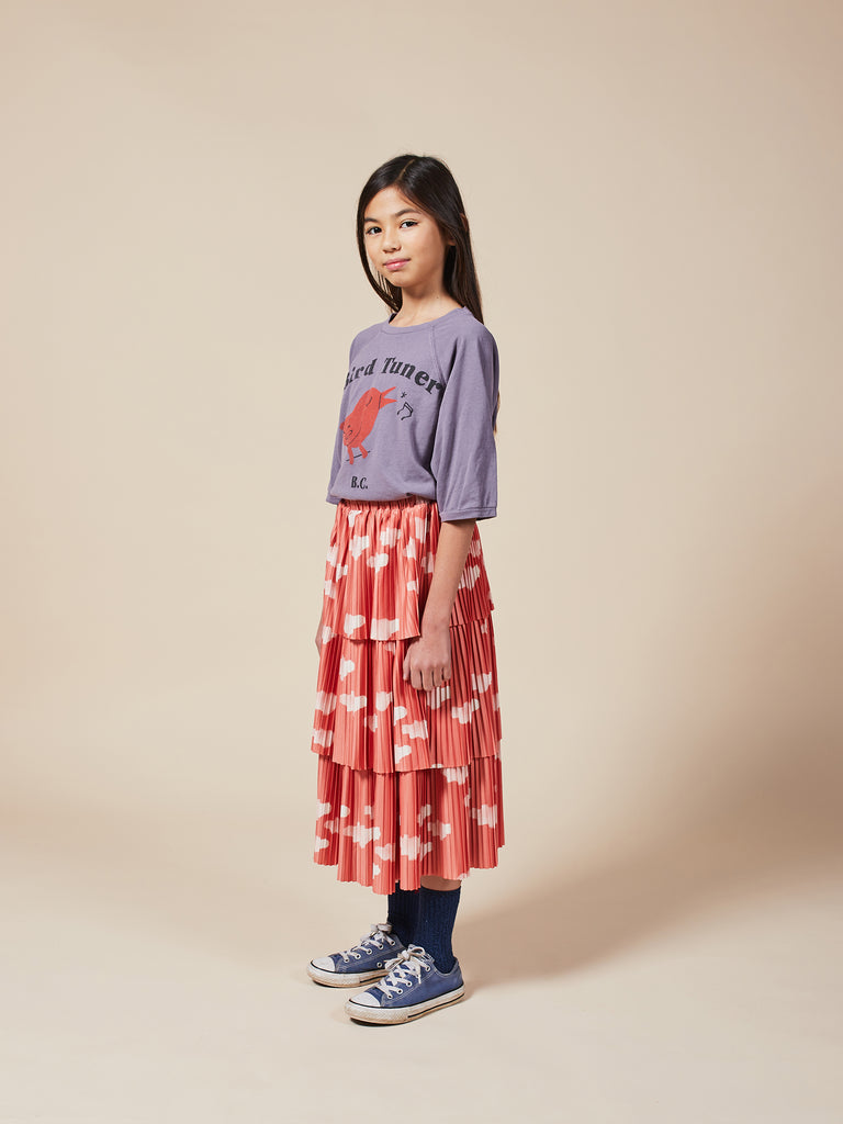 Clouds All Over Woven Skirt - Cemarose Children's Fashion Boutique