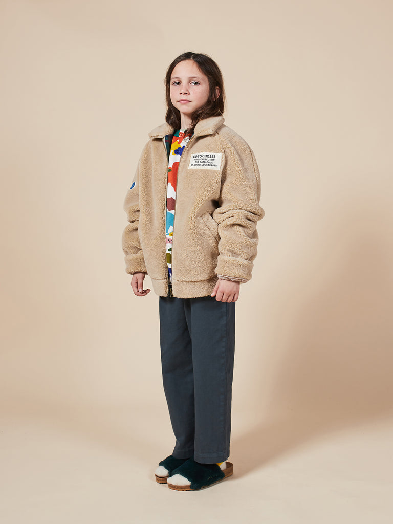 Catalogue Of Marvelous Trades Sheepskin Bomber - Cemarose Children's Fashion Boutique