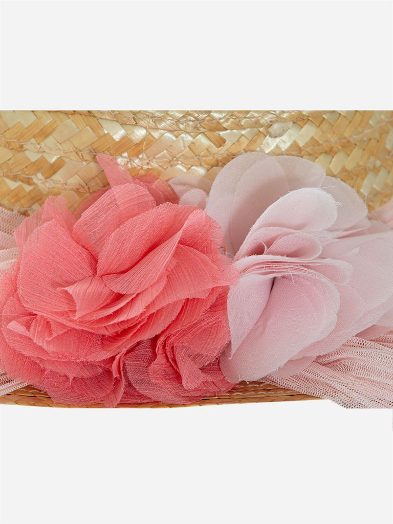 TRADITIONAL HAT,PALE PINK