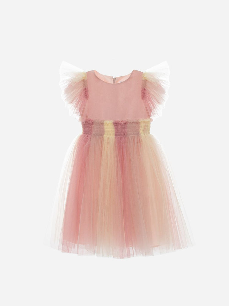 MULTICOLOR TULLE DRESS