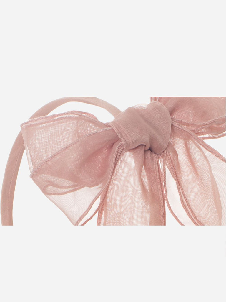OLD PINK ORGANZA HAIRBAND