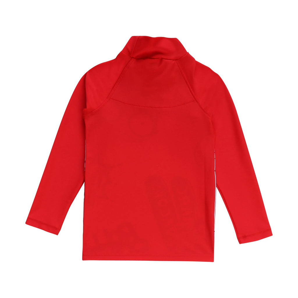 TEE-SHIRT, BLANC ROUGE - Cemarose Children's Fashion Boutique