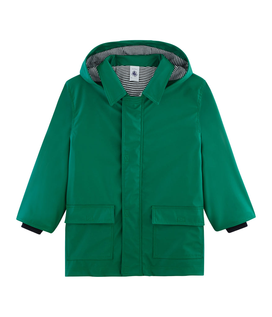 OILSKIN, GREEN - Cemarose Children's Fashion Boutique