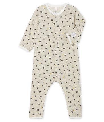 SLEEPSUIT, STARS GREY - Cemarose Children's Fashion Boutique