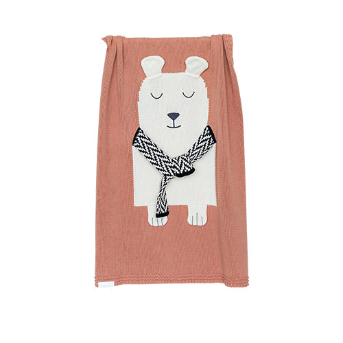 Blanket BEAR-Cotton - Cemarose Children's Fashion Boutique